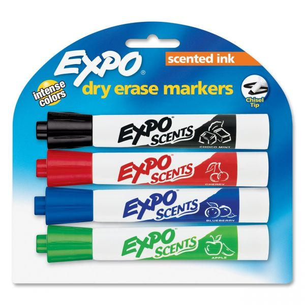Expo Scented Dry-Erase Markers