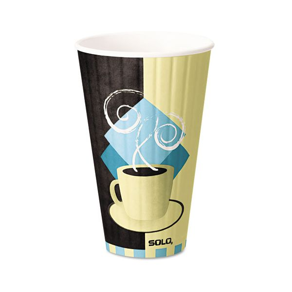 SOLO Duo Shield Insulated 20 oz Paper Coffee Cups