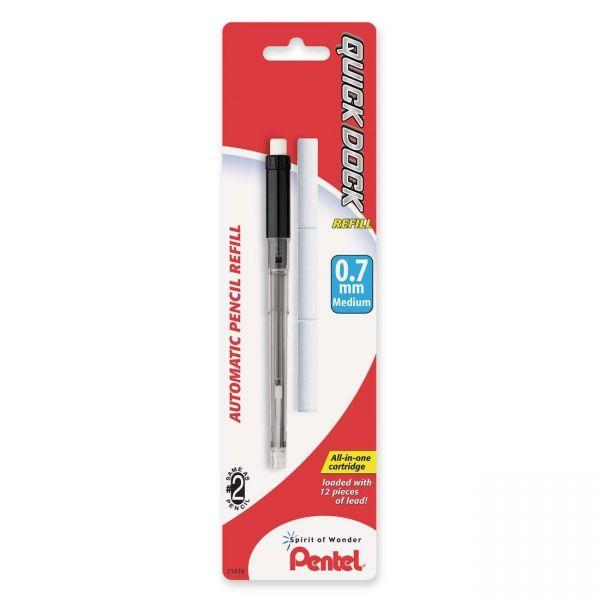 Pentel .7MM Quick Dock Mech. Pencil Lead Refills