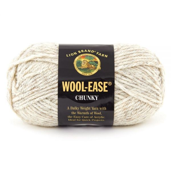 Lion Brand Wool-Ease Chunky Yarn - Wheat