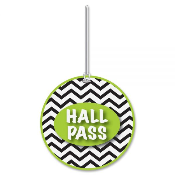 Ashley Chevron Design Hall Pass