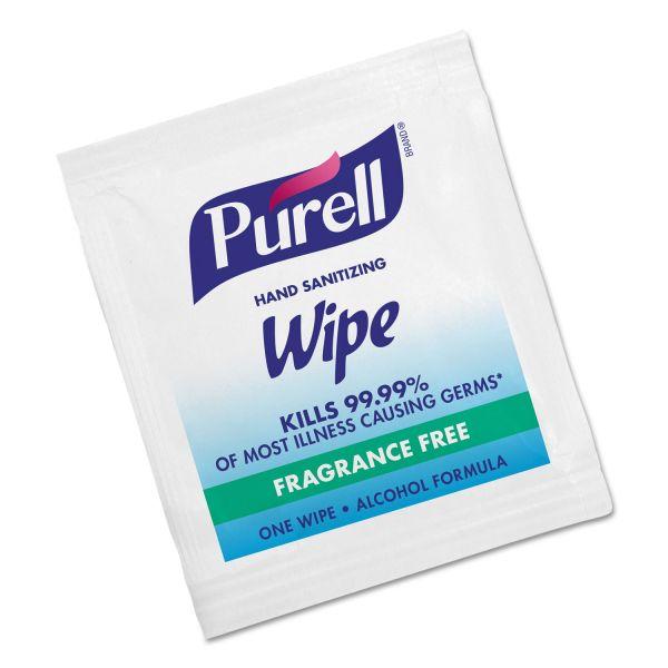 Purell Premoistened Sanitizing Hand Wipes