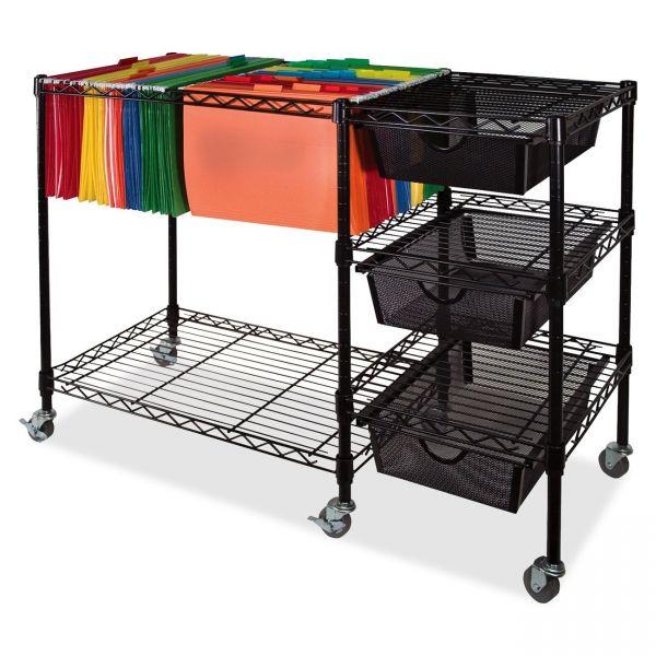 Vertiflex Mobile File Cart