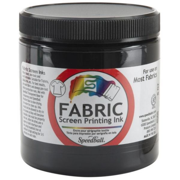 Speedball Fabric Screen Printing Ink 8oz