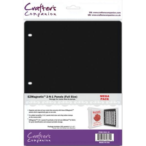 EZMagnetic 2-N-1 Panels - Full Size 10/Pkg
