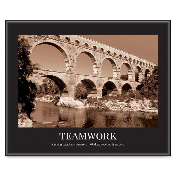 """Advantus Motivational """"Teamwork"""" Poster"""