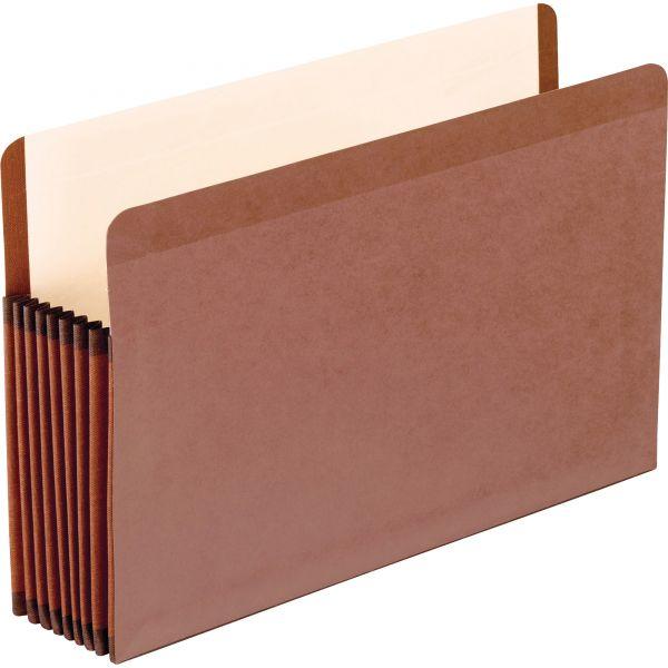 Pendaflex Premium Reinforced Expanding File Pockets, Straight Cut, 1 Pocket, Legal
