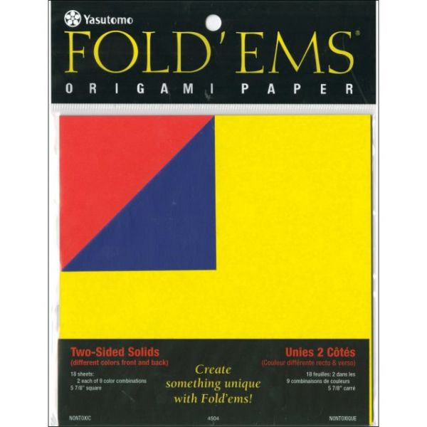 Fold 'Ems 2-Sided Origami Paper