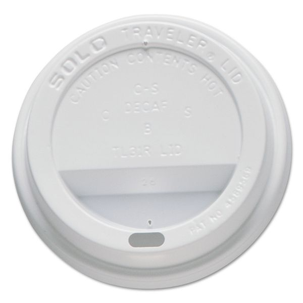 SOLO Cup Company Traveler Drink-Thru Coffee Lids