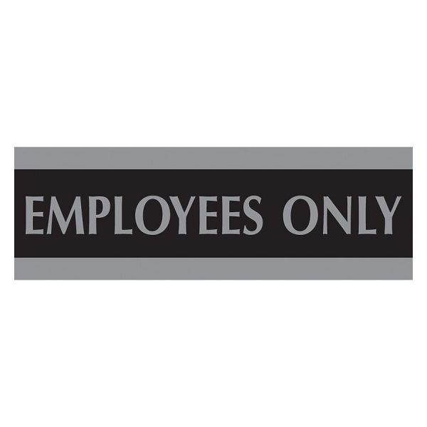 """U.S. Stamp & Sign """"Employees Only"""" Sign"""