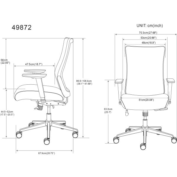 Tremendous Lorell Mesh Back Rolling Chair Alphanode Cool Chair Designs And Ideas Alphanodeonline
