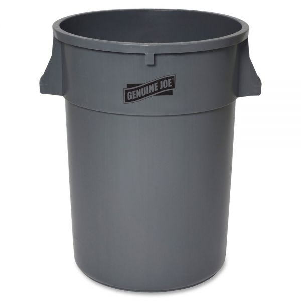 Genuine Joe Heavy-Duty 44 Gallon Trash Can