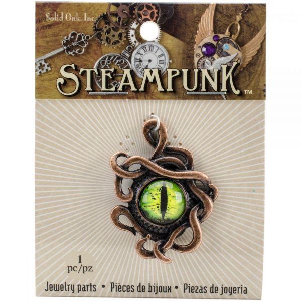Steampunk Metal Pendant 1/Pkg