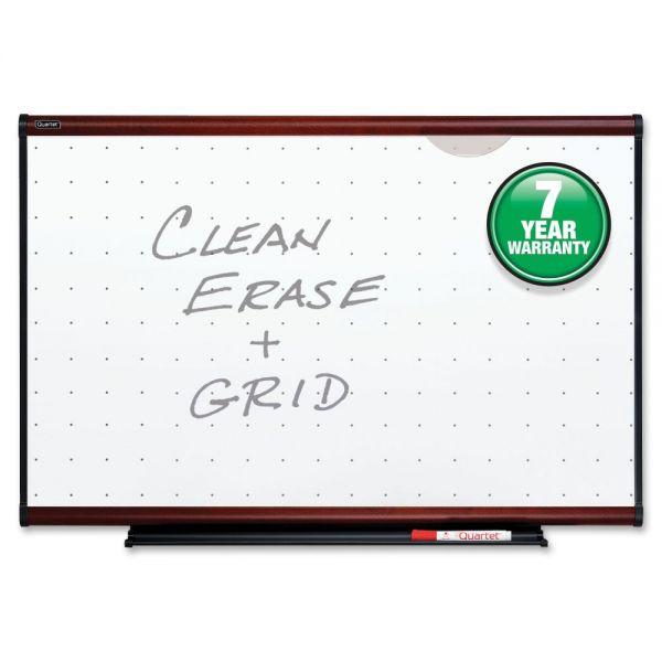 Quartet Mahogany Frame Total Erase Boards