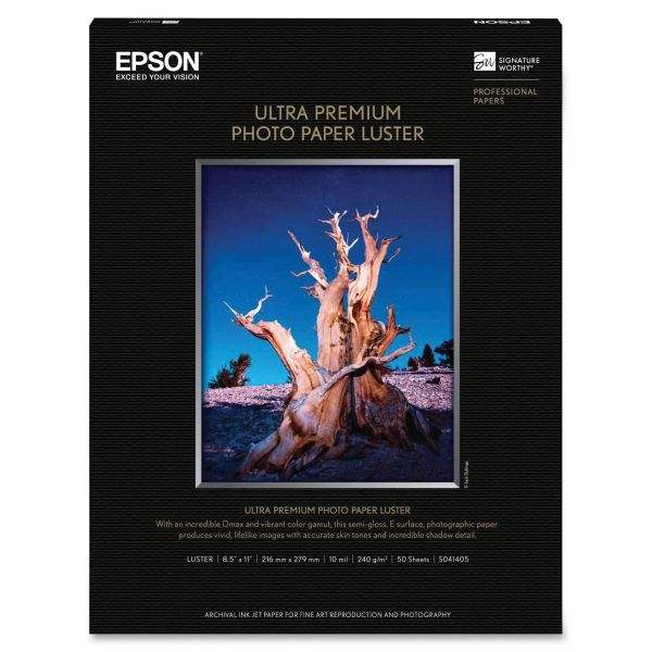 Epson Luster Photo Paper