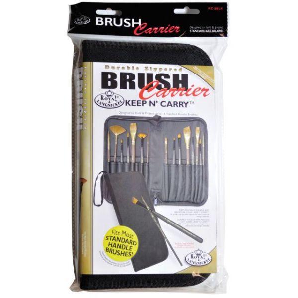 Keep N' Carry Zippered Standard Brush Carrier
