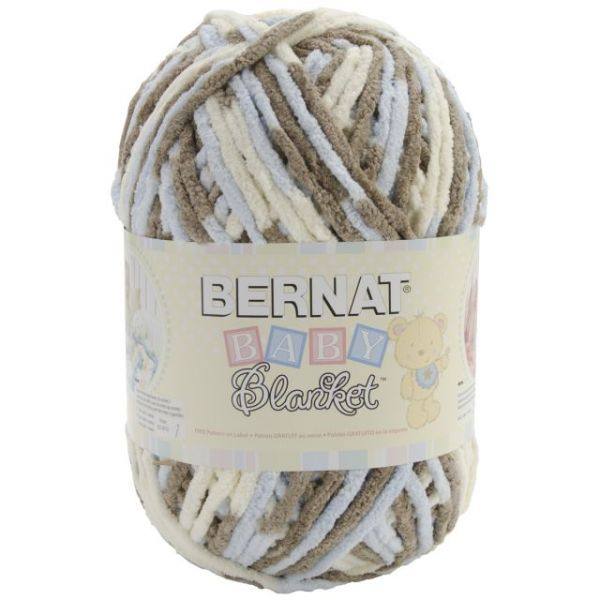 Bernat Baby Blanket Big Ball Yarn - Little Cosmos