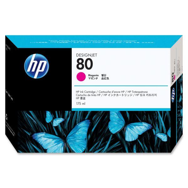 HP 80 Magenta Ink Cartridge (C4874A)