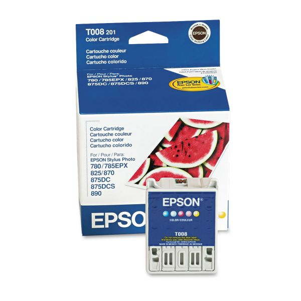 Epson T008 Color Ink Cartridge