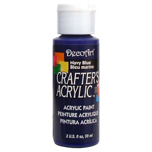 Deco Art Navy Blue Crafter's Acrylic Paint