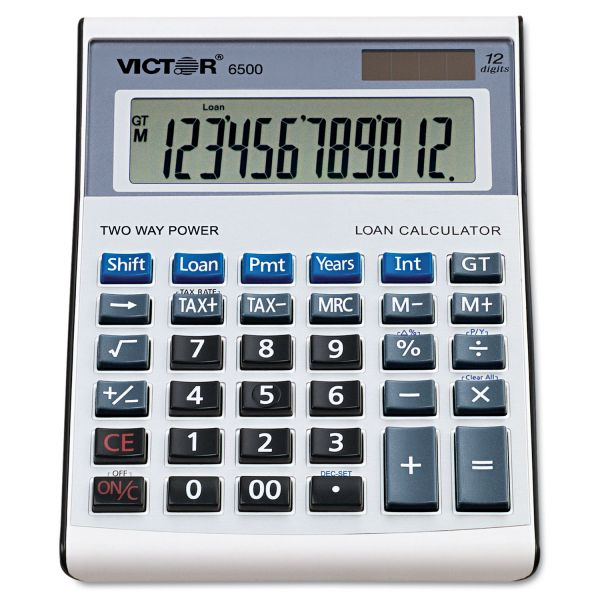 Victor 6500 Loan Wizard Desktop Calculator