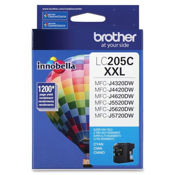 Brother Innobella Super High-Yield LC205C XXL Cyan Ink Cartridge