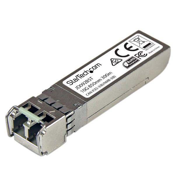 StarTech.com 10 Gigabit Fiber SFP+ Transceiver Module - HP JD092B Compatible - MM LC with DDM - 300m (984 ft) - 10GBase-SR