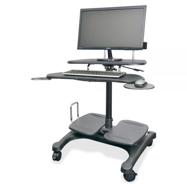 Kantek Sit/Stand Mobile Workstation