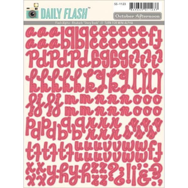 Daily Flash Vol. 2 Alpha Stickers