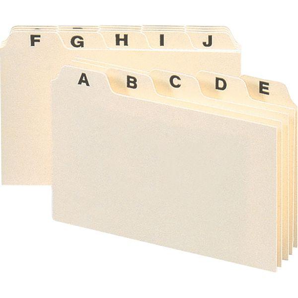 Smead 56076 Alphabetic Guide Set