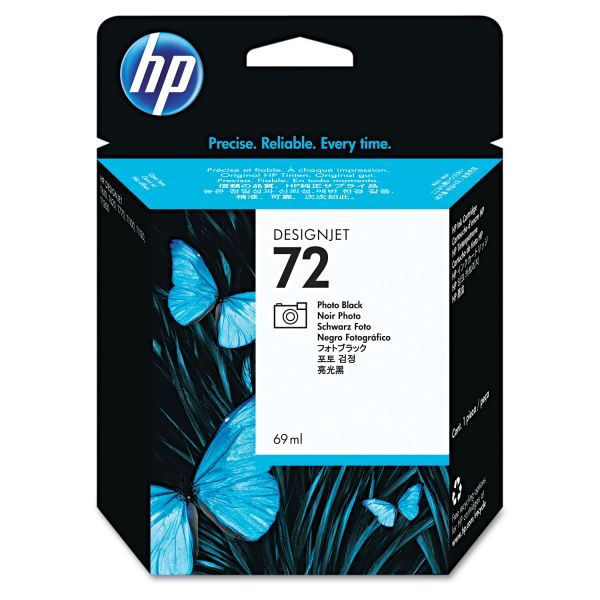 HP 72 Photo Black Ink Cartridge (C9397A)