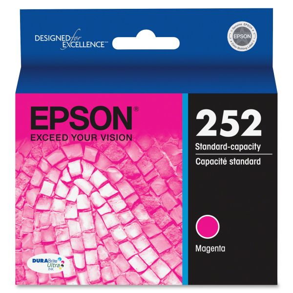Epson 252 DURABrite Ultra Magenta Ink Cartridge (T252320)