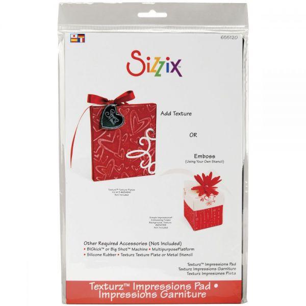 Sizzix BIGkick/Big Shot Texturz Impressions Pad