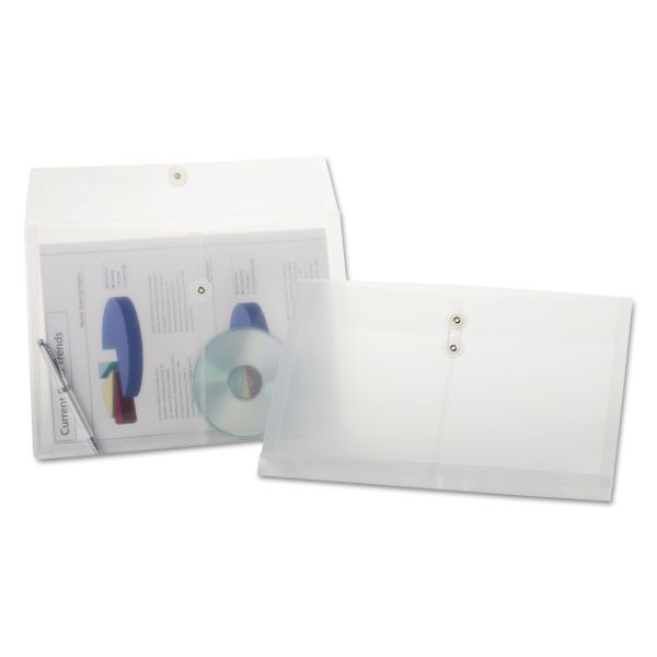 Pendaflex Poly String & Button Booklet Envelopes