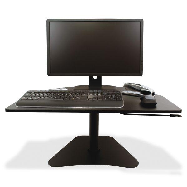 Victor High Rise Collection Adjustable Stand-Up Desk Converter