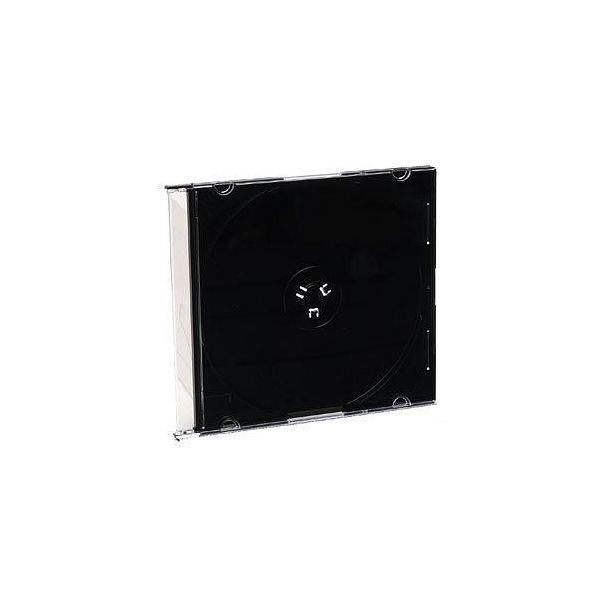 Verbatim CD/DVD Black Slim Jewel Cases - 200pk (bulk) - TAA Compliant