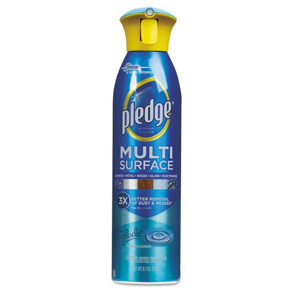 Pledge Multi Surface Everyday Cleaner with Glade Rainshower