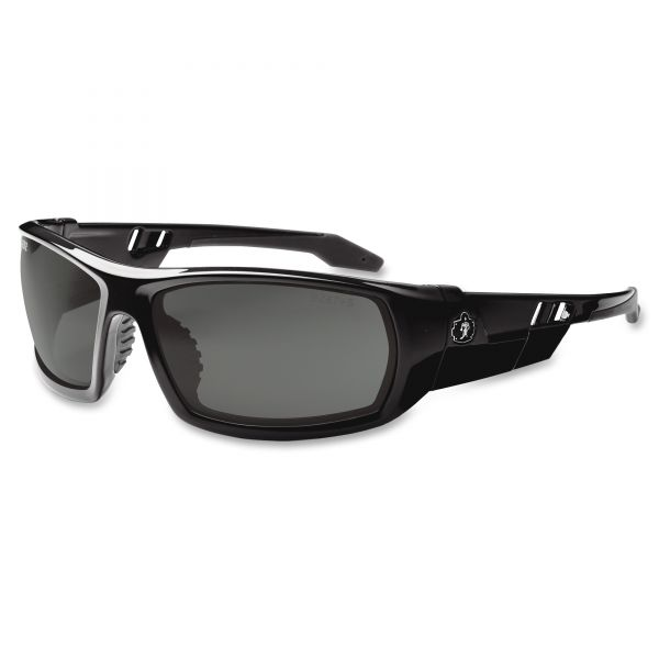 Ergodyne Skullerz Odin Smoke Lens Safety Glasses