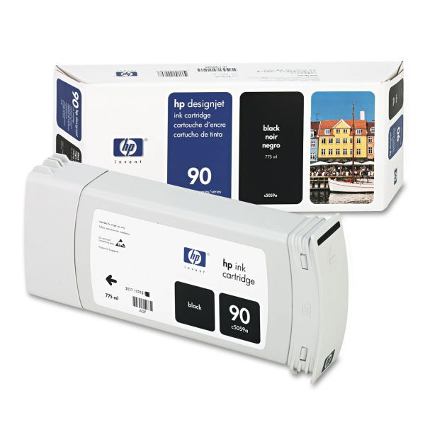 HP 90 Black Ink Cartridge (C5059A)