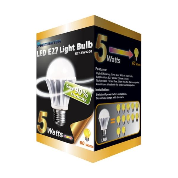 Premiertek LED Light Bulb