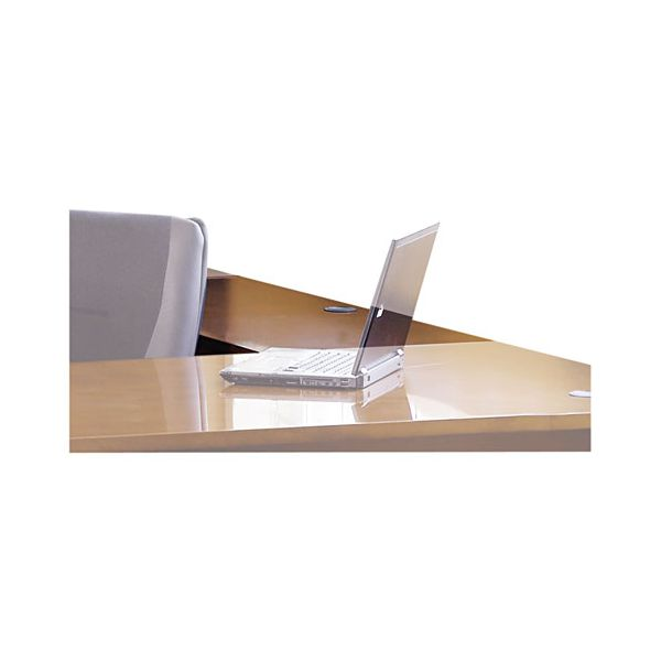 Mayline Stella Series Wood Veneer Bridge, 48w x 20d x 29½h, Toffee