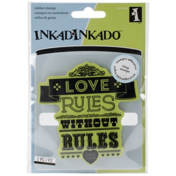 "Inkadinkado Cling Stamps 4""X4"" Sheet"
