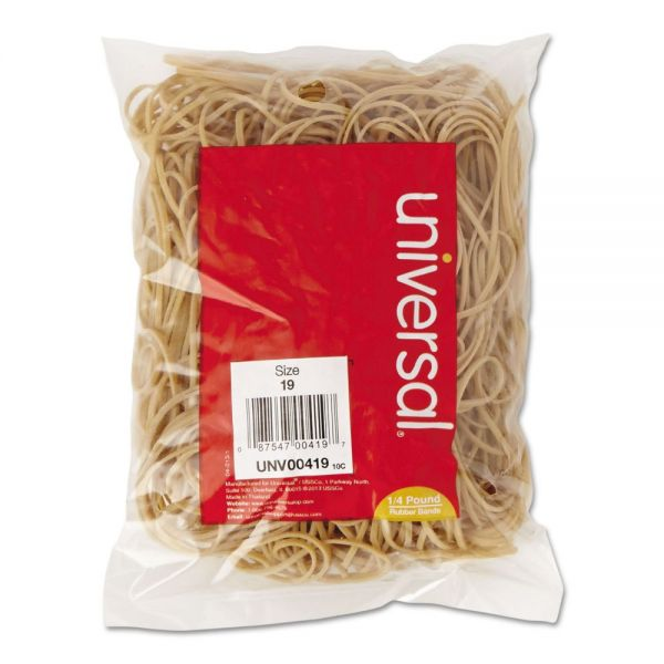 Universal #19 Rubber Bands (1/4 lb)