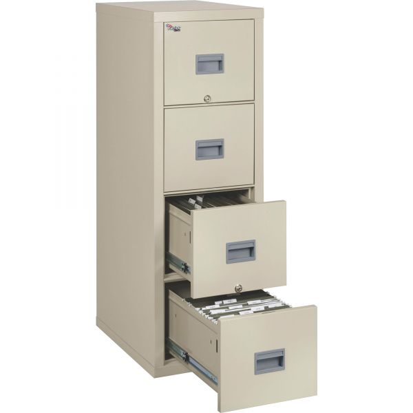 FireKing Patriot Insulated 4-Drawer Fire Vertical File Cabinet