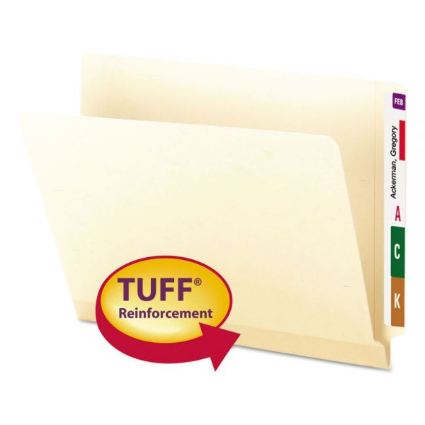 Smead Tuff Laminated Letter Size End Tab File Folders