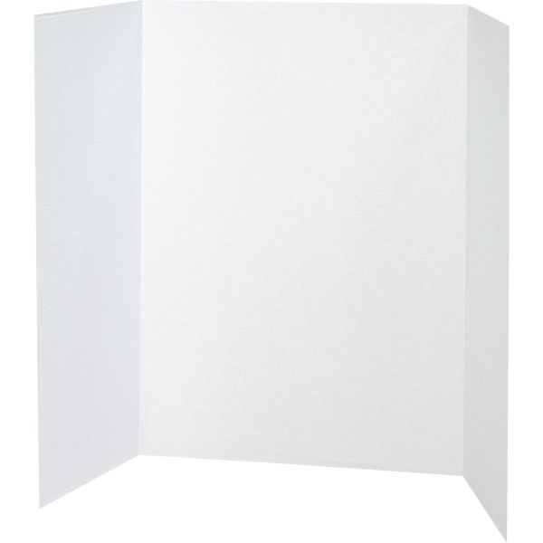 Pacon Spotlight Single Walled White Corrugated Presentation Board