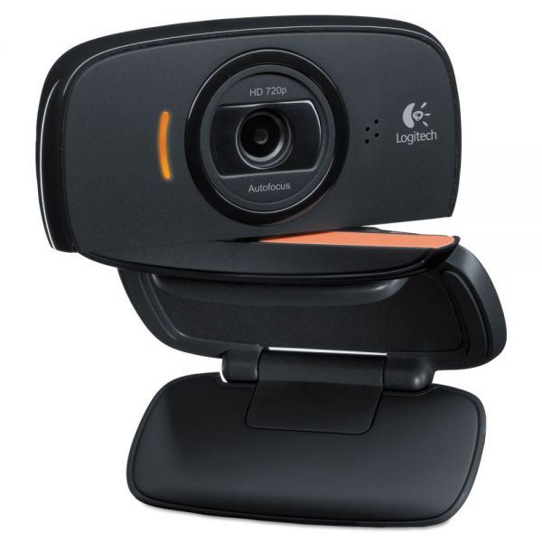 Logitech Webcam C525,720P HD, 8MP, Black/Silver