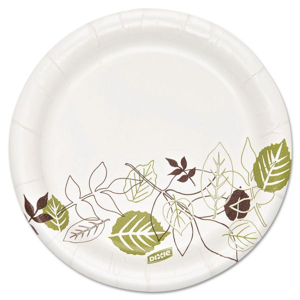 "Dixie Ultra Heavyweight 5 7/8"" Paper Plates"