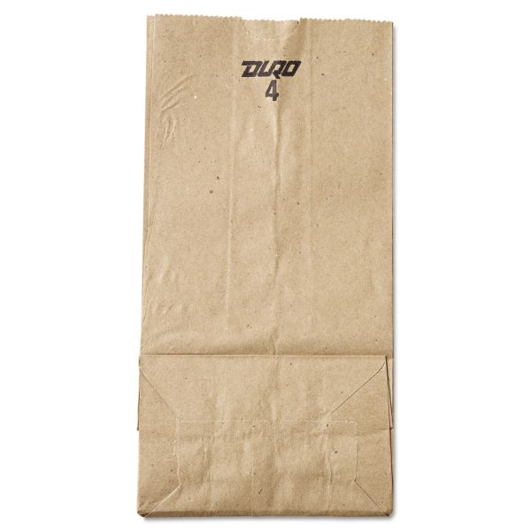 General #4 Brown Paper Grocery Bags