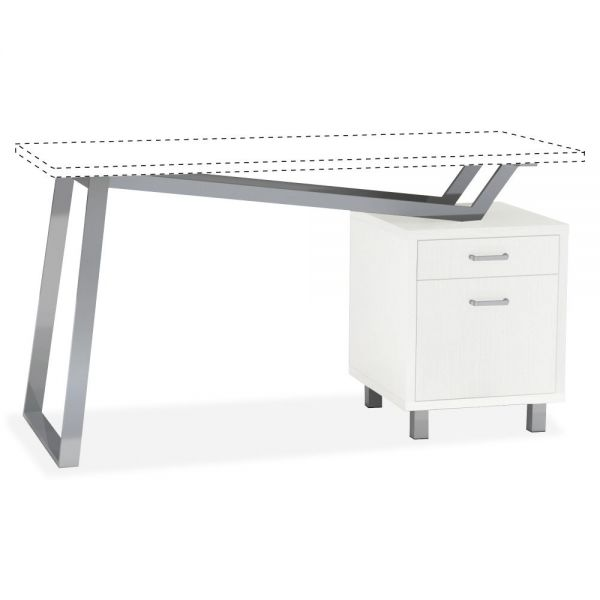 Mayline Pedestal V-desk Base